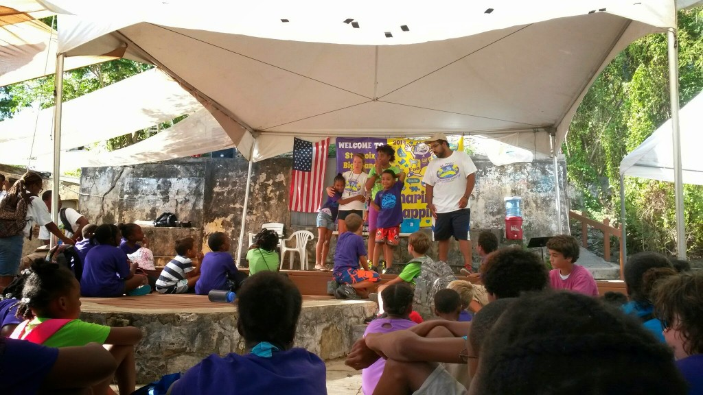 Award ceremony at Big Island Adventure Camp at AZ